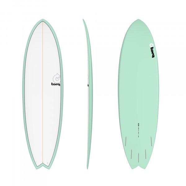 Surfboard TORQ Epoxy TET 6.3 Fish Seagreen