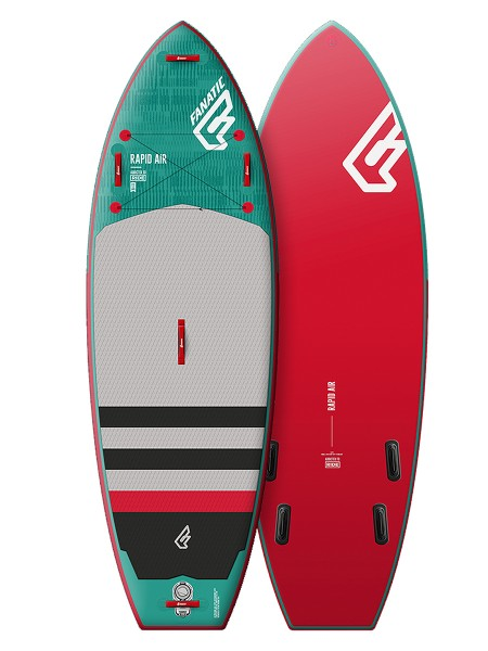 "Fanatic 9'6"" Rapid Air iSUP"