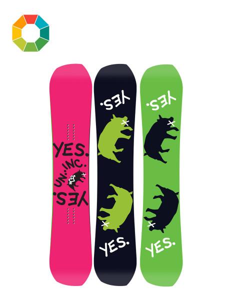 Yes Greats Uninc Snowboard 2018