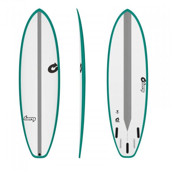 Surfboard TORQ Epoxy TEC BigBoy23 6.10 Rail Grün