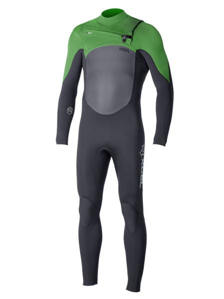 Xcel Infiniti X2 5/4 Wetsuit green