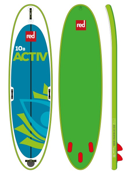 """Red Paddle 10'8"""" Active SUP"""