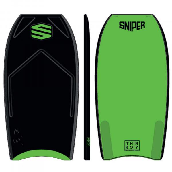 SNIPER Bodyboard Ian Campbell Theory NRG 42