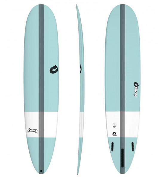 Surfboard TORQ Epoxy TEC The Don 8.6 tint green