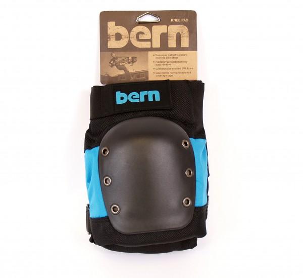 BERN Knee Pad Adult / Schützerset Erwachsene Knie black/blue