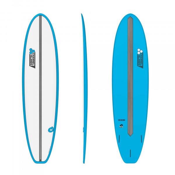Surfboard CHANNEL ISLANDS X-lite Chancho 7.0 Blau