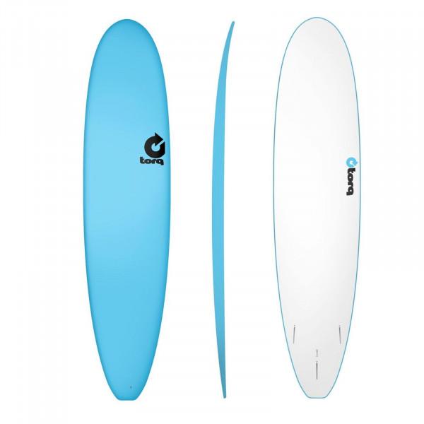 Surfboard TORQ Softboard 8.0 Longboard Blue