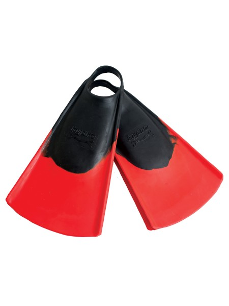 Hydro Fin Bodyboard Flossen black/red