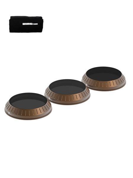 PolarPro DJI Inspire 2 Zenmuse X4S - Cinema Series - Shutter Collection 3-Pack Filter + Kingtide Rol