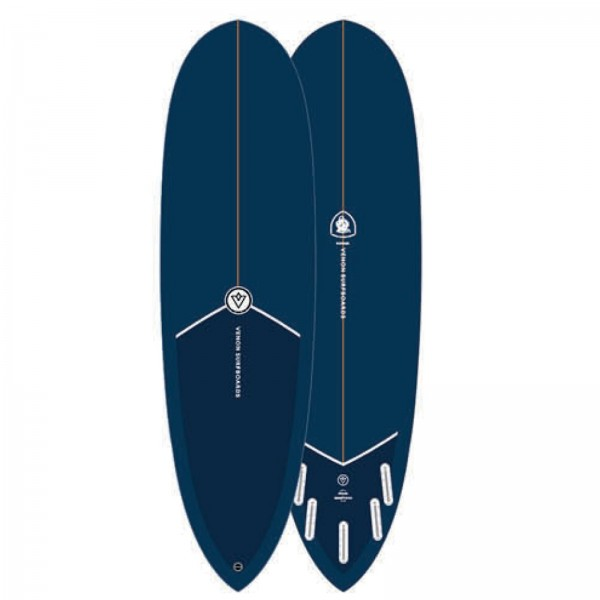 Surfboard VENON Gopher 6.8 Navy