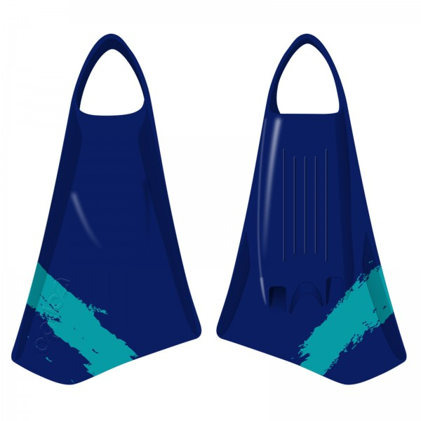 Bodyboard Flossen OPTION MK2 Navy Teal