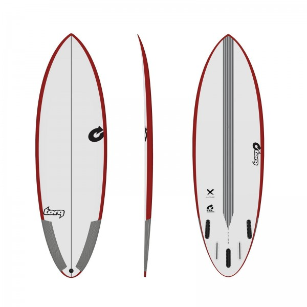 Surfboard TORQ Epoxy TEC Multiplier 6.0 Rail Rot