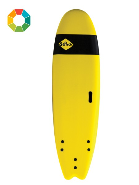 "Softech Handshaped 7'0"" Softboard"