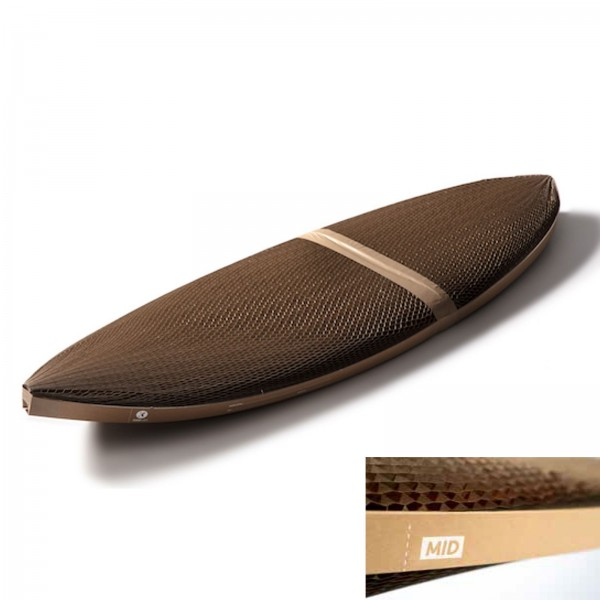 Flexi-Hex MID Transportverpackung Surfboard