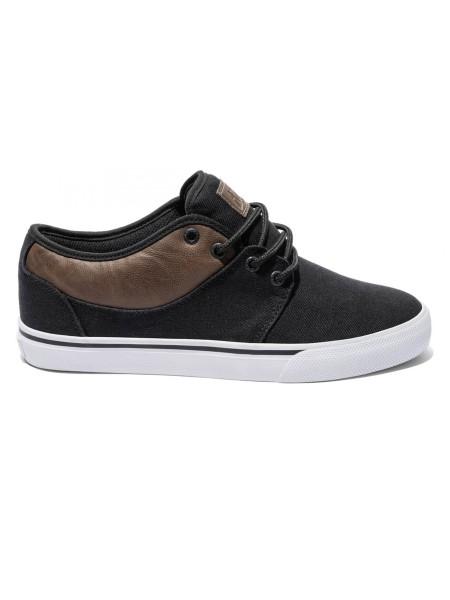 Globe Mahalo blacktwill/brown Sneaker