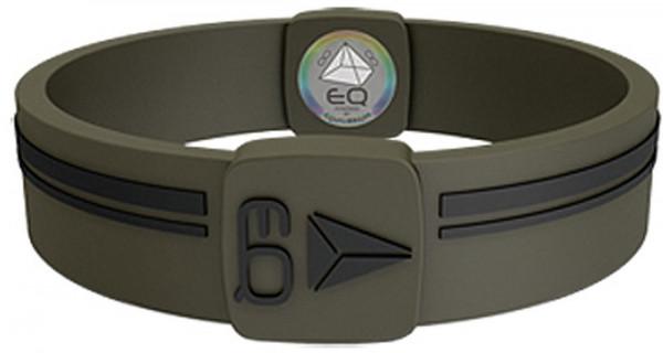 EQ - Hologramm Armband khaki/black