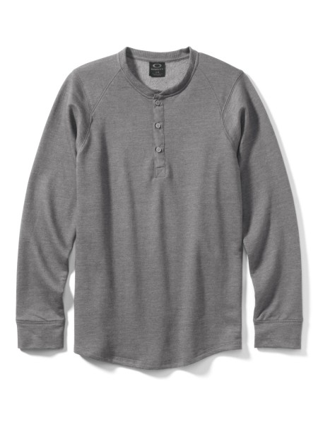 Oakley Potomac Henley dark heather grey