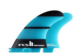 FCS II Performer Neo Glass Quad Set - Medium