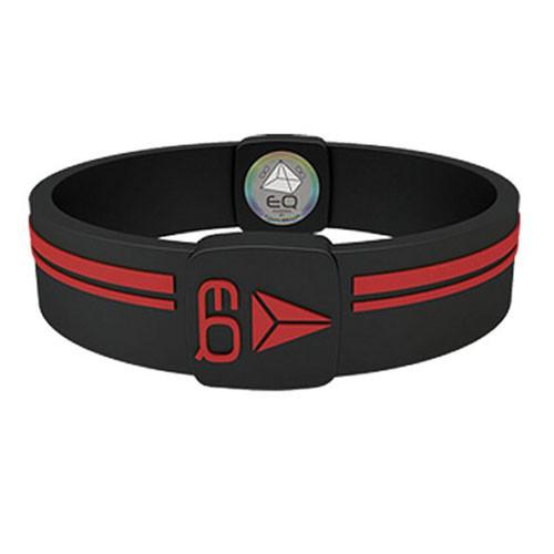 EQ - Hologramm Armband black/red