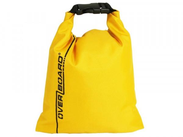 OverBoard wasserdichter Beutel 1 Liter Gelb