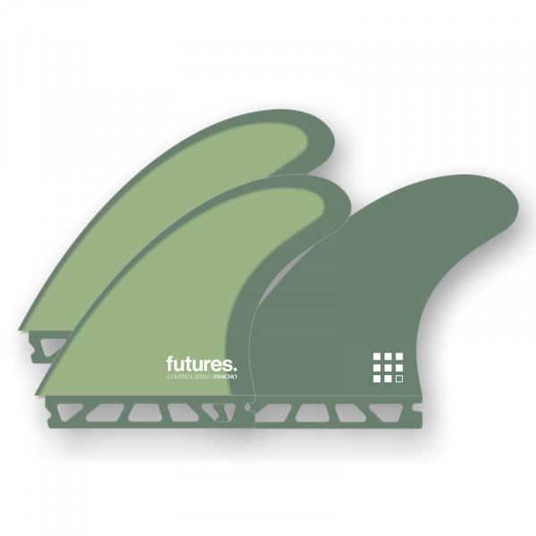 FUTURES Thruster Fin Set Pancho Sullivan Control